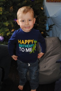 precious birthday boy