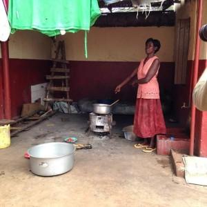 Kitchen in Africa