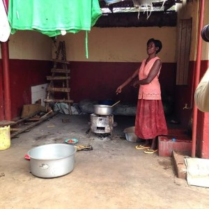 Kitchen in Africa